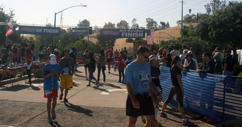 Finish line pic